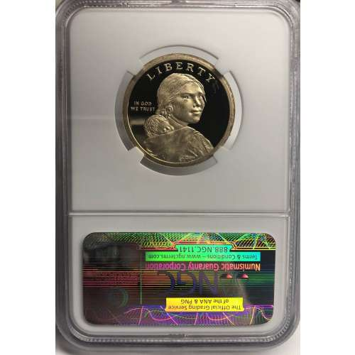 2013-S TREATY WITH THE DELAWARES EARLY RELEASES ULTRA CAMEO NGC PF-70