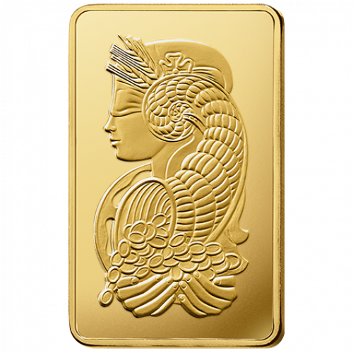 1kg PAMP Gold Bar - Fortuna