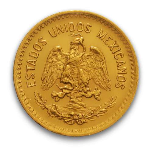 Mexico 2 Peso Gold Coin