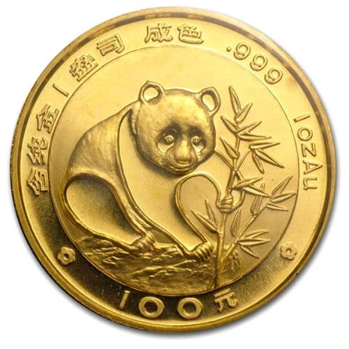 1988 1oz Chinese Gold Panda