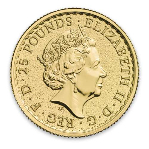 Any Year 1/4oz British Gold Britannia - 9999 (2013-present)