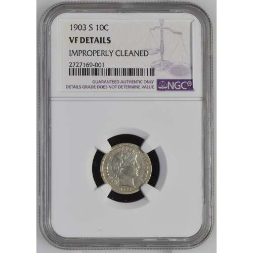 1903-S   NGC VF Details