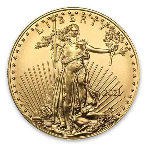 2021 1/2oz American Gold Eagle - Type 1