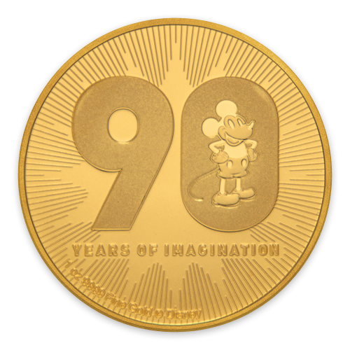 2018 1 oz Mickey Mouse Gold Coins