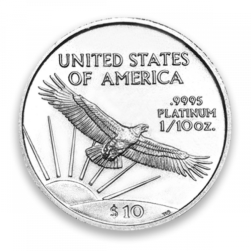 2007 1/10oz American Platinum Eagle