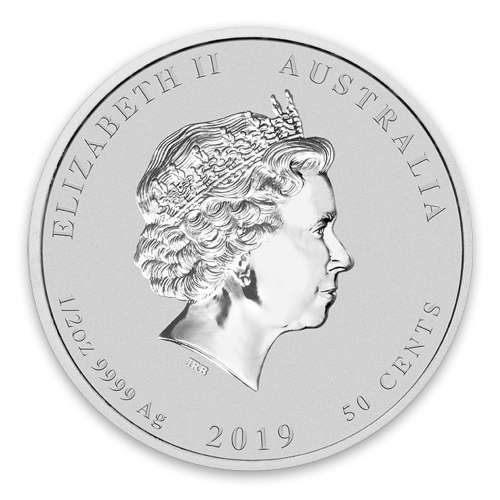 2019 1/2oz Australian Perth Mint Silver Lunar: Year of the Pig