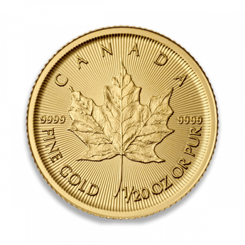 Any Year - 1/20oz Canadian Gold Maple Leaf