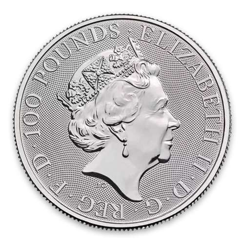 2018 1oz British Platinum Britannia Coin