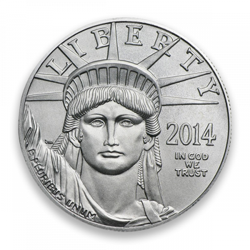 Any Year 1/4oz American Platinum Eagle