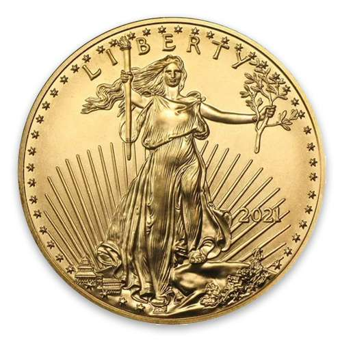2021 1/4oz American Gold Eagle - Type 1