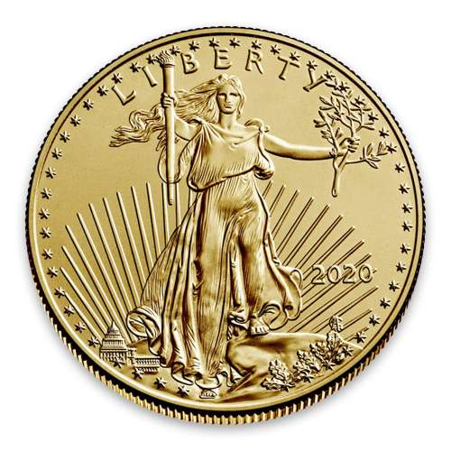 2020 1/2oz American Gold Eagle
