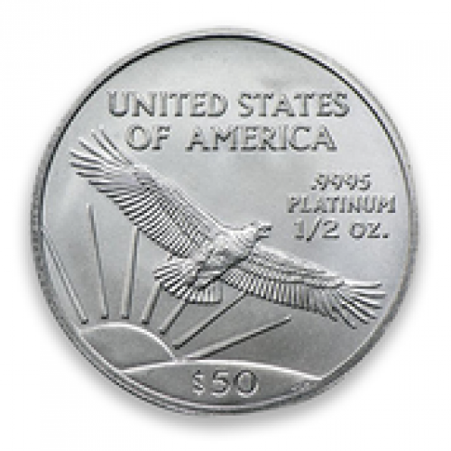 Any Year 1/2oz American Platinum Eagle