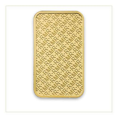 1oz Royal Mint Refinery Minted Gold Bar