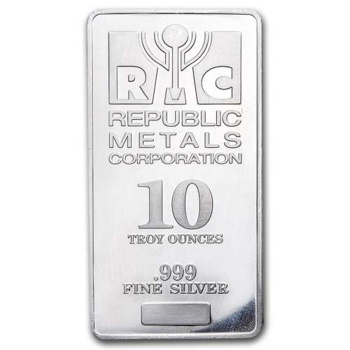 10oz Generic Silver Bar