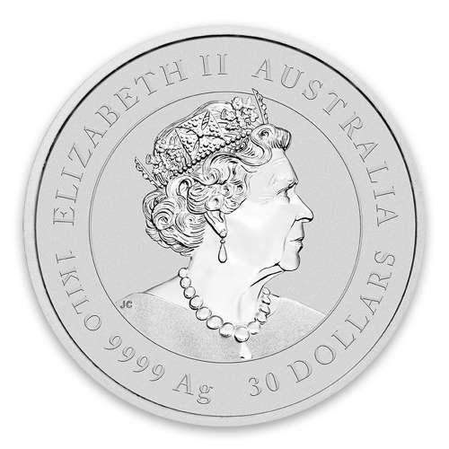 2020 10oz Perth Mint Lunar Series: Year of the Mouse Silver Coin