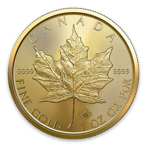 2020 1oz Canadian Gold Maple Leaf