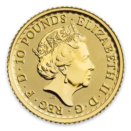 2020 1/10oz British Gold Britannia