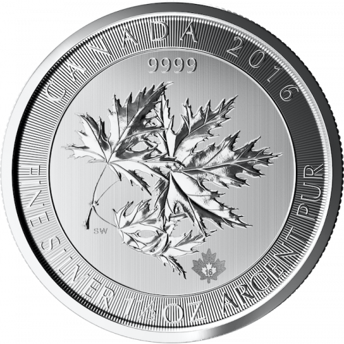2016 1.5oz Canadian Silver Maple Leaves