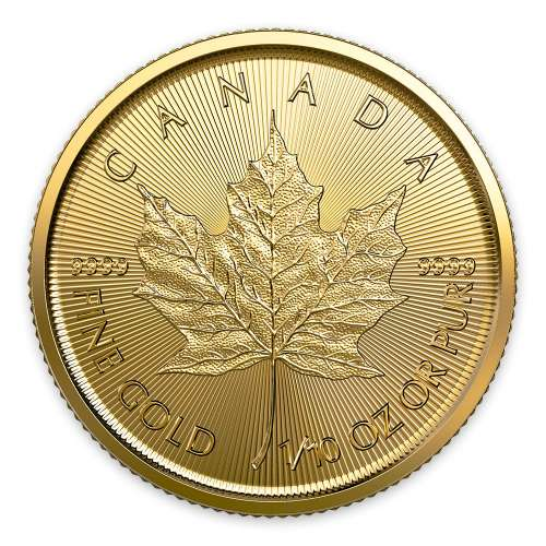 2020 1/10oz Canadian Gold Maple Leaf