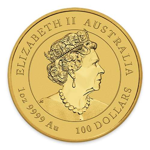 2020 1oz Perth Mint Lunar Series: Year of the Mouse Gold Coin