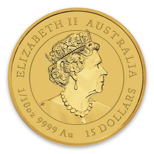 2020 1/10 oz Australian Gold Lunar Series: Year of the Mouse